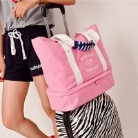 Single-Shoulder Bag Pocket Case Shoes Clothes Travel Trip Multifunction Adjustable Carry Storage Organizer Wash Pouch