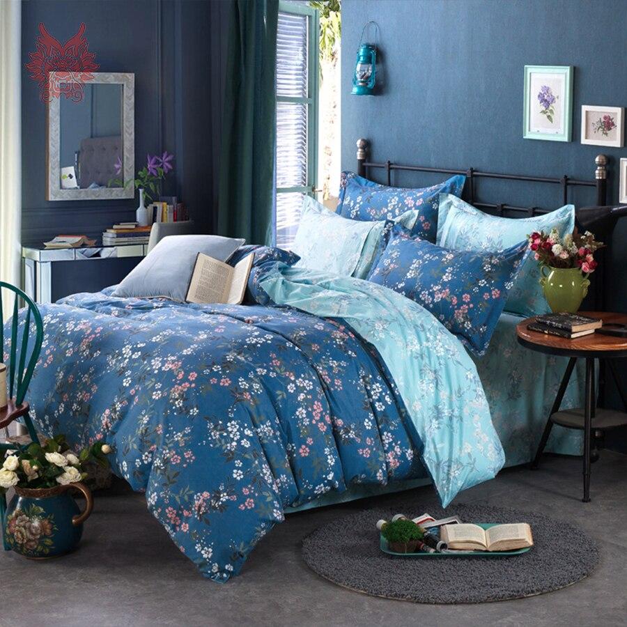 Online kopen wholesale dekbedovertrekken blauw uit china ...