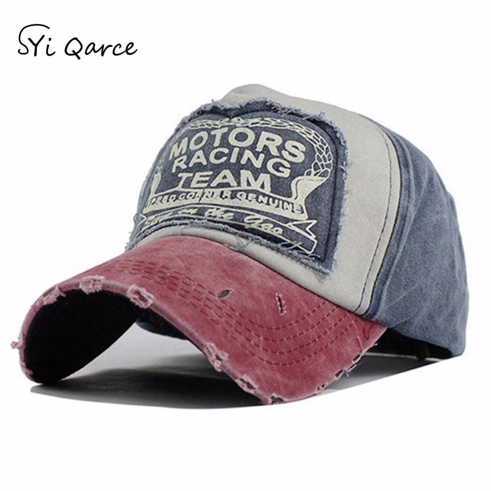 SYi Qarce High Quality Multicolors Summer Autumn Adjustable Hat   Baseball     Cap   Hip Hop Fitted   Cap   for Men Women Snapback Hat