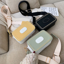 Womens Crossbody Bag Small Shoulder 2019 New Luxury Messenger Bags Leather Yellow Fashion Cute Flap For Woman Female Green