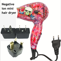 Professional 1200W Hair Dryer for Hairdressing Barber Salon Tools Blow Dryer Travel Hairdryer Hair Drier Fan 100 240V