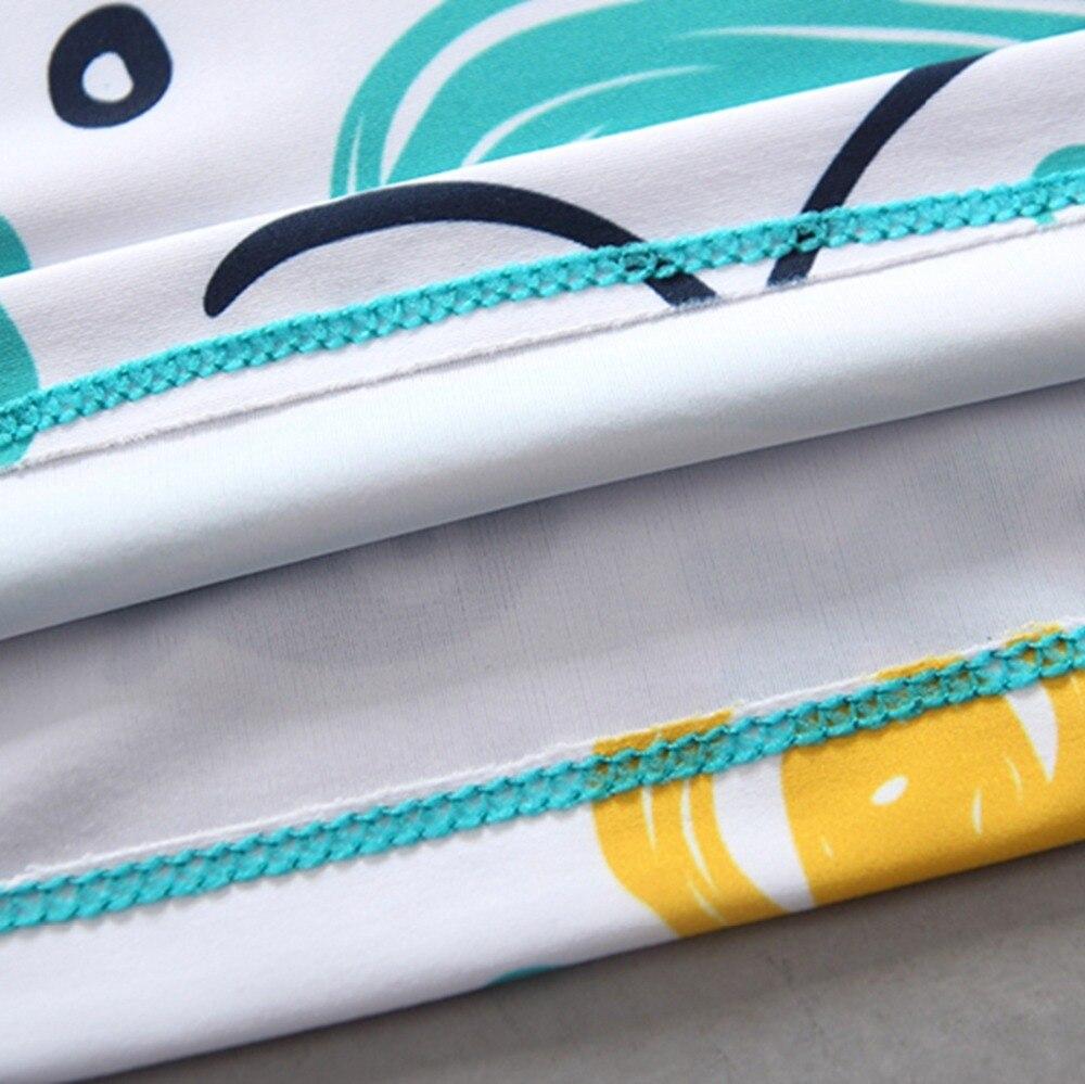 Одежда для купания детский купальный костюм для мальчиков комплект из двух предметов, купальные плавки с защитой от ультрафиолета, детские купальные костюмы