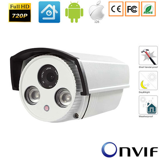 720PP/960P/1080P Bullet Securiy CCTV  IP camera,Onvif HD Camera  P2P IR Cut Night Vision Waterproof Outdoor Camera bullet camera tube camera headset holder with varied size in diameter