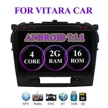 7,1 «Android 10,1! Автомобильный DVD ПК мультимедиа DVD плеер gps Navi Стерео Радио Fit SUZUKI GRAND VITARA 2015 2016 2018 2017 3g Wi Fi BT
