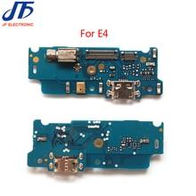 10 ピース/ロット USB ドック充電ポートコネクタボードフレックスモトローラモト E4 充電器ポートフレックスリボン