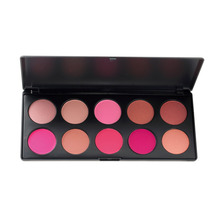 1set 10 Color Makeup Cosmetic Blush Blusher Powder Palette Face Care Blush Blusher Powder