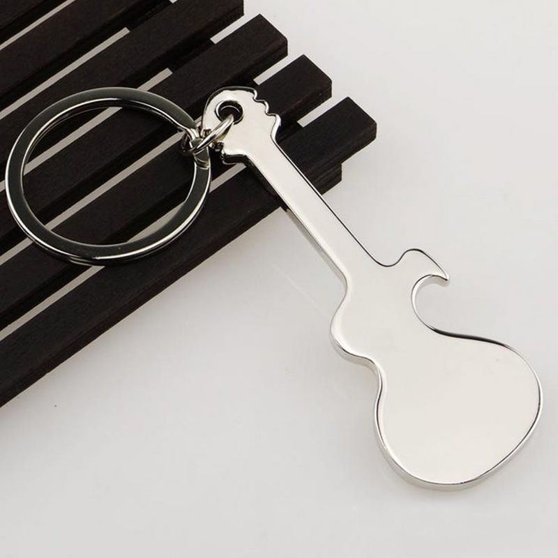 XIAOJINGLING 3D Mini Guitar Bottle Opener Keychains Creative Charm Kitchen  Accessories Key Ring Openers Keychain Tools Household In Key Chains From  Jewelry ...