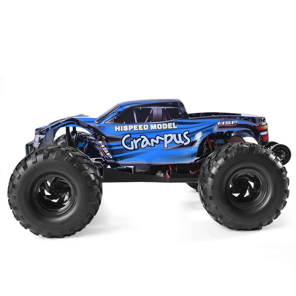 HSP RC Car 1/10 Scale Off Road Monster Truck 94601PRO Electric Power Brushless Motor Lipo Battery High Speed Hobby Vehicle Toys