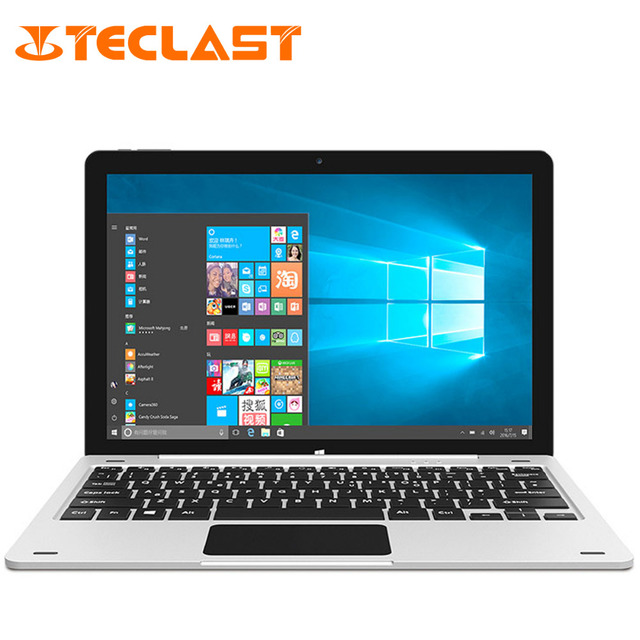 "Teclast Tbook12 Pro 2 in 1 Ultrabook Windows 10+Android 5.1 Intel Cherry Trail X5 Z8300 64bit Quad Core 4GB+64GB 12.2"" Tablet PC"