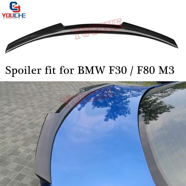 M3 Carbon Fiber Car Rear Spoiler For BMW F30 3 Series