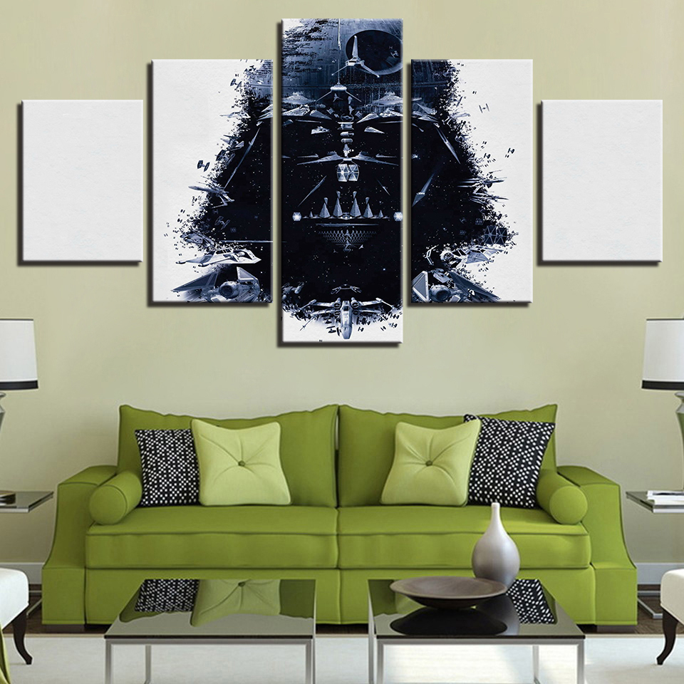 5 Pieces Star Wars Black Knight Imperial Stormtrooper Modern Home ...