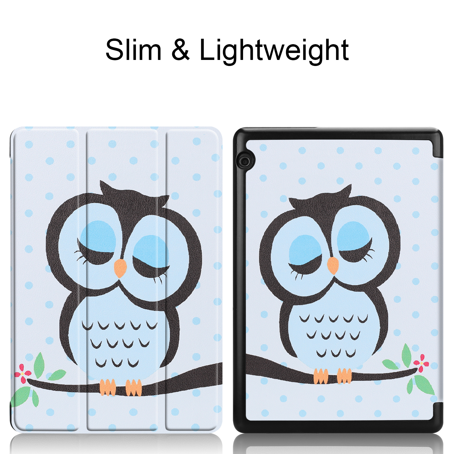 Walkers PU Cover For Huawei Mediapad T5 10 Tablet Slim Case For T5 AGS2-W09/L09/L03/W19 10 Inch Protective Skin+Gift