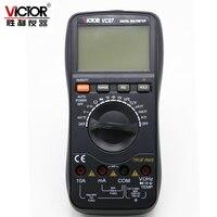 VICTOR VC97 Professionelle True RMS Auto Range 4000 Zählt Widerstand Kapazität Frequenz Temperatur Digital Multimeter-in Multimeter aus Werkzeug bei