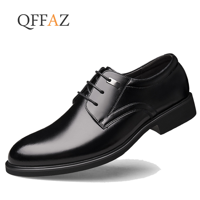 Chaussures Formelle Véritable En Richelieus Black Casual Business Été Printemps Hommes Luxe De Bureau Robe Respirant breathable Qffaz Black Cuir Aq5HwBIXW