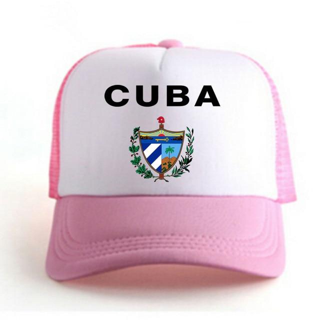 CUBA men youth student boy hat diy free custom print photo nation flag spanish country republic cu college unisex baseball cap