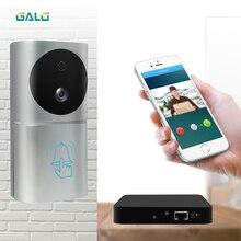 1080 P с питанием от аккумулятора WiFi видео дверной звонок мобильное приложение управление интеллектом