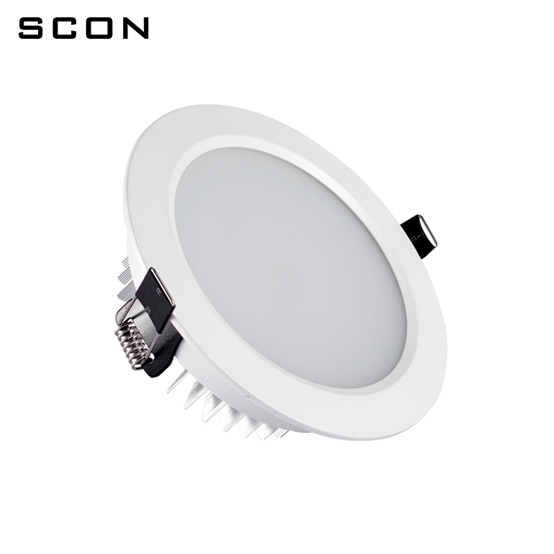 Image 4 - SCON 2.5inch 5W AC110 240V living Room Round waterproof LED Mini downlight CRI RA>85 OSRAM Recessed Ceiling lamp indoor light-in LED Downlights from Lights & Lighting