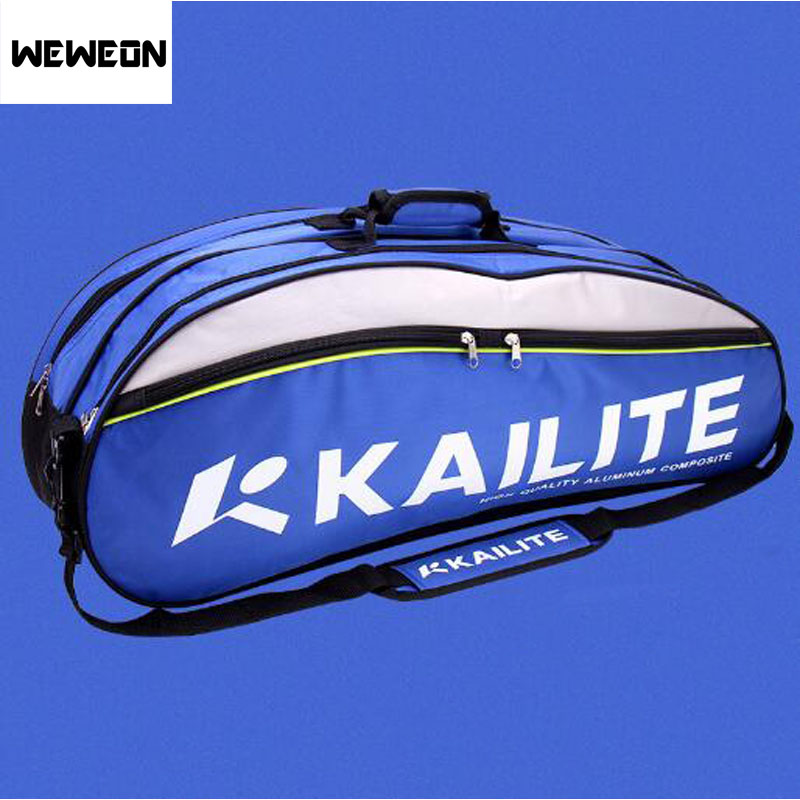 Профессиональный Теннис ракетка сумка Спортивная Бадминтон сумка Теннис сумка для Для мужчин и Для женщин с Обувь хранения