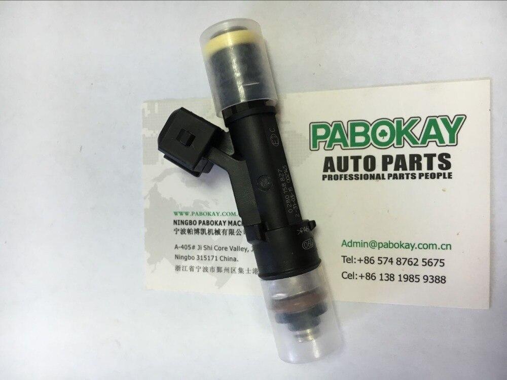 ФОТО 1pcs x 0280158827 Fuel Injectors 160LB 1700CC Fits for FIAT IVECO MAN OPEL VW