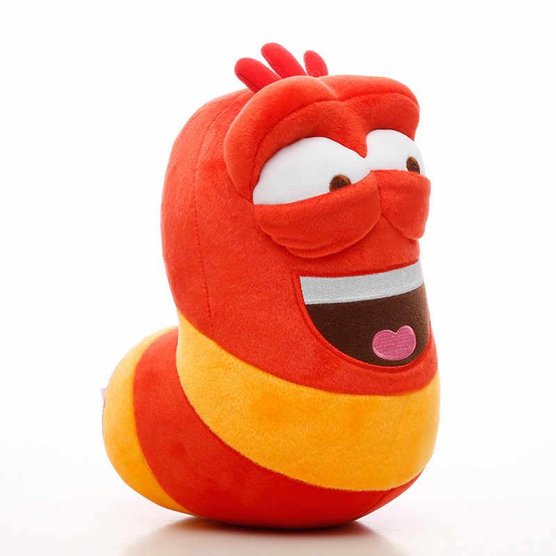 Милая Детская плюшевая игрушка по мотивам мультфильма весело насекомых клейкая изоляционная лента Забавный червяк игрушки мягкие игрушки-черви для мальчиков и для девочек, игрушки в подарок на день рождения 2 шт./лот