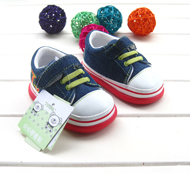 Baby Shoes Baby First Walkers Cute Rubber Bottom Toddler Shoes for Kids