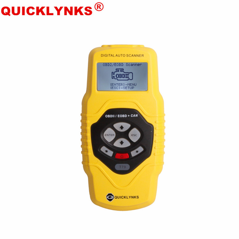 Highend Diagnostic Scan Tool OBDII Auto Scanner T79 (Yellow Multilingual Updatable) electronic parking brake epb service tool ep21 multilingual updatable one year warranty
