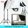 Tracking Number  photo stuido Soft Box  set  light Photography  flash  softbox reflector material+lamp holder hold for 4 lamps