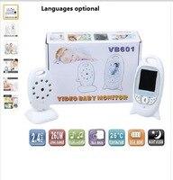 New Infant 2 4 GHz Wireles Baby Monitor Radio Babysitter Digital Video Baby Monitor Audio Night