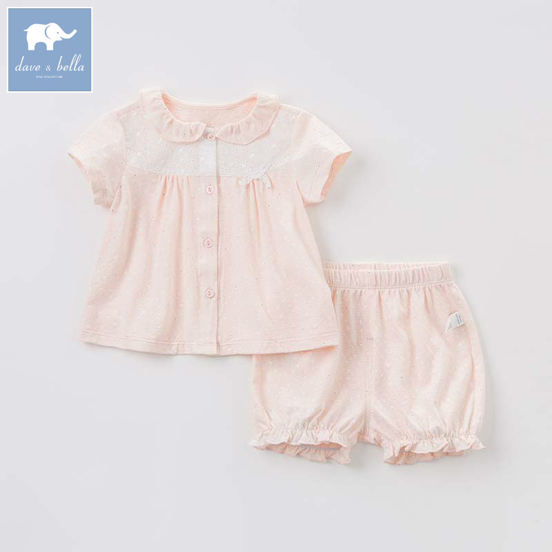 Dave bella toddler girls summer clothing children high quality clothes baby lovely suit kids clothing sets DB7557 db4499 dave bella summer baby girls lovely clothing sets kids stylish clothing sets toddle cloth kids sets baby fancy clothes