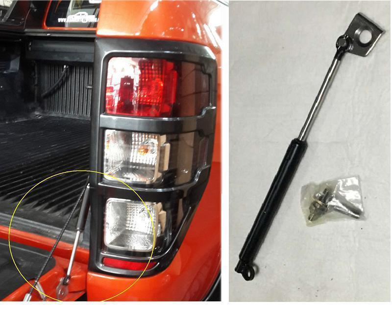 CITYCARAUTO FREE SHIPING REAR GATE STRUT SHOCK TAIL GATE GAS SLOW DOWN FIT FOR FORD RANGER T6 T7 XL PX XLT WILDTRAK 2012-2017 citycarauto snokel kit fit for 2016 2017 ranger t7 xlt xl wildtrak air intake lldpe snorkel kit set auto 4 4 accessories