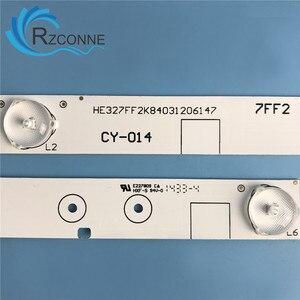 "Image 4 - 571mm LED Backlight strip 6 lamp For Hisense 32""TV LED32K20JD LED32K30JD E227809 LED32EC260JD LED32EC110JD HXF S 6V/LED"