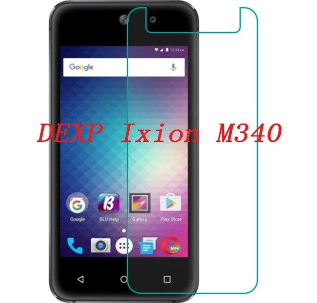 Smartphone de vidrio templado para DEXP Ixion M340 9 H a prueba de explosión de película protectora de pantalla Protector de la cubierta del teléfono