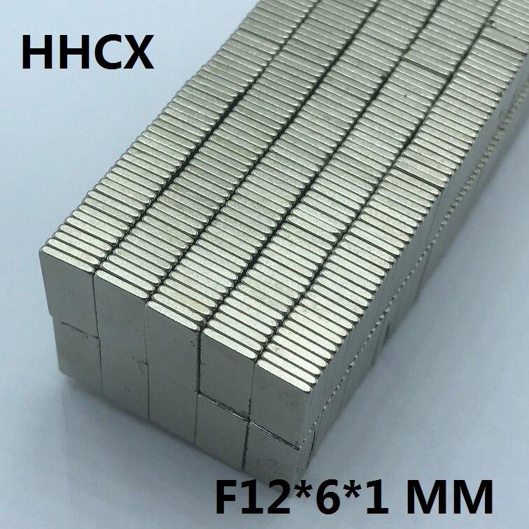 Hardware Heimwerker Neue Mode 100 Stücke F 12x6x1mm N35 Starke Platz Ndfeb Seltenerd-magnet 12*6*1 Neodym-magneten 12mm X 6mm X 1mm