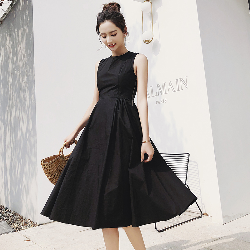 0a11130f1a 2018 Korean style Women Beautiful Summer Dress Party Dresses E9867 ...