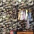 0.53*10 Metros de Pedra Pilha Decalque Da Parede Papel de Parede Papel de Parede Pintura Mural Da Parede (Não Auto-adesivo)