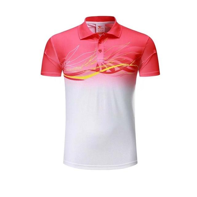 7ca34d04 2017 Sports Polo Shirt Men Golf Shirt 100% Polyester Short Sleeve Turn-down  Collar