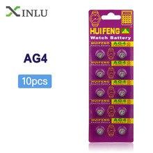 цены на 10pcs/Lot= 1pack ,AG4 377A 377 LR626 SR626SW SR66 LR66 Cell Battery Button Battery ,Watch Coin Battery, Free Shipping  в интернет-магазинах