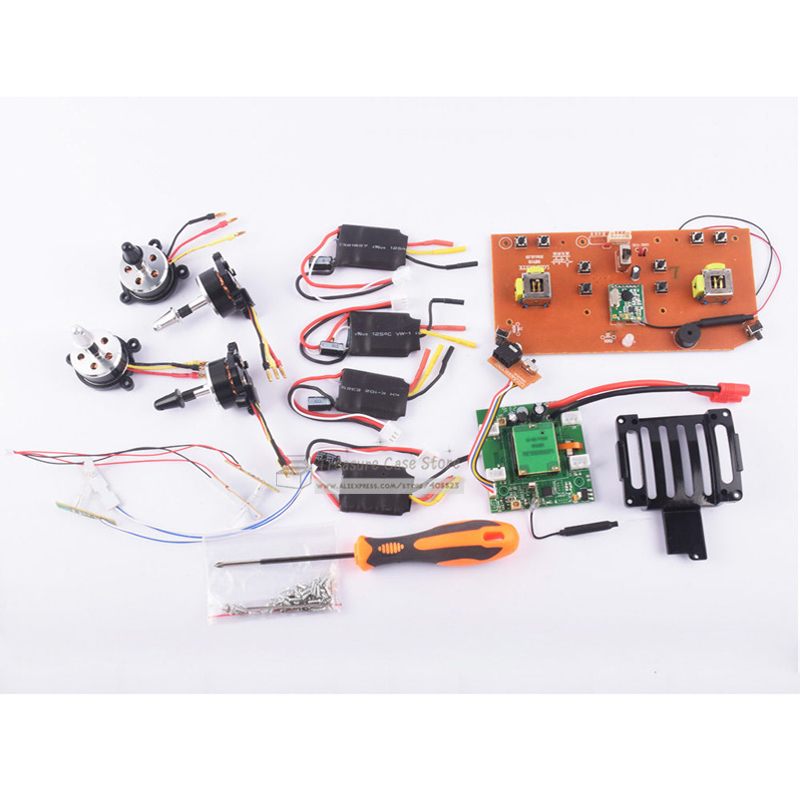 Brushless Motor Spare Part Kit for syma X8C X8W X8G X8HC X8HG X8HW Rc drone colorful landing gear for syma x8 x8c x8g x8w x8hw x8hc rc helicopter spare parts drones landing gear quadcopter accessories