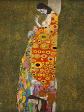 portrait paintings frameless canvas paintings masterpiece reproduction Abandoned Hope  By: Gustav Klimt frameless canvas paintings contemporary abstract paintings masterpiece reproduction untitled purple by chu teh chun art