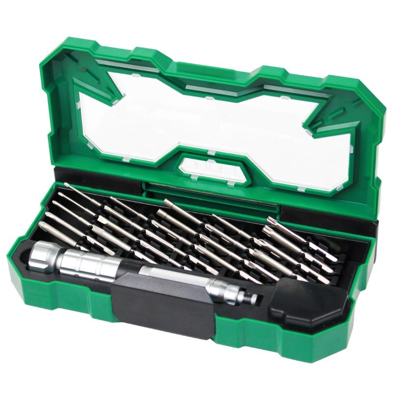 ФОТО Imported S2 Screwdriver Set Precision Screwdriver Combination Screwdriver Set Tool Set