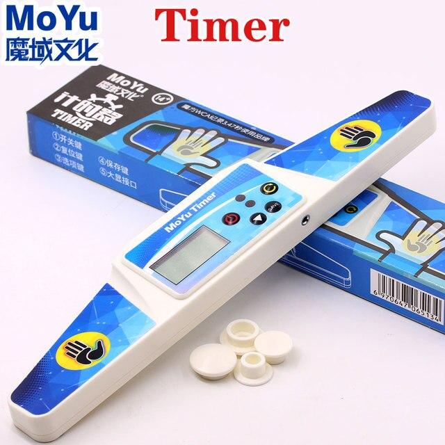 Moyu головоломка скоростной куб таймер высокая скорость таймер профессиональный часы машина магические кубики спортивные соревнования