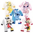 Brand New Baby Long Rompers Character Mickey Minnie baby boy clothes roupas de bebe baby romper