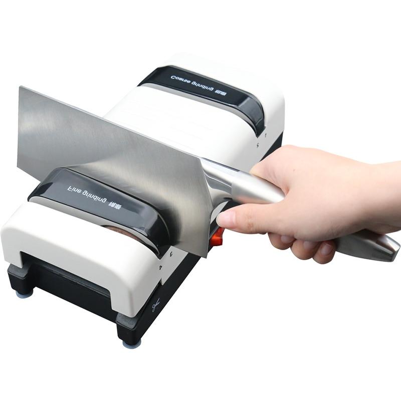 Fast kitchen knife sharpener high precision multi function automatic household diamond electric knife sharpener 220V