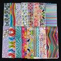 16 Unids Colorido Shimmer Estrellado Cielo Estrellado Clavo Foils 4*20 cm de Uñas Glitter Transferencia Etiqueta Engomada Del Clavo DIY Manicura Decoraciones del arte
