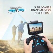 Profesional rc drone X1G Brushless motor 2.4G 6 Sumbu dengan 5.8G FPV Kamera remote control RC Quadcopter 300-400 M Jarak Drone