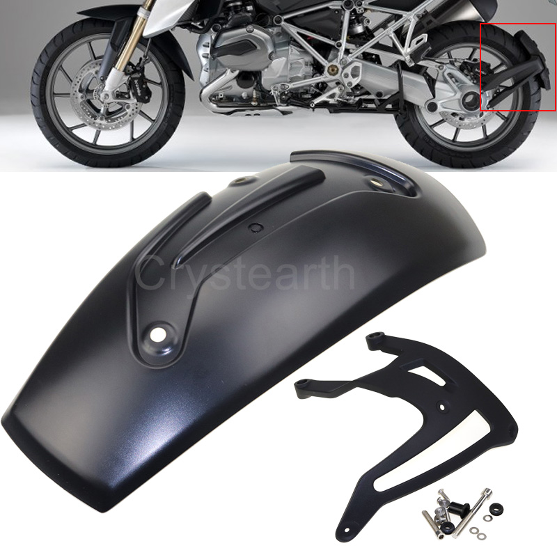 Motorcycle Parts Rear Fender Wheel Hugger Mudguard Splash Guard For BMW R1200GS R 1200 GS LC 2013-2017 /Adventure 2014-2017 for bmw r1200gs r1200 gs adventure 2008 2012 motorcycle carbon rear fender bracket wheel hugger fender mudguard splash guard