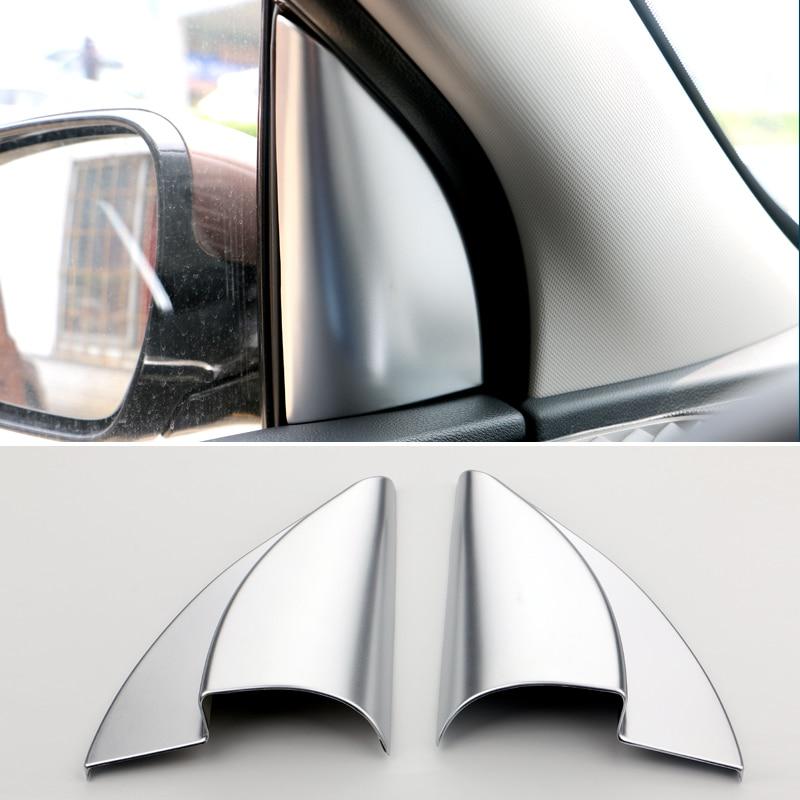Para kia sportage 4 ql 2016 2017 2018 2019 2020 abs janela da porta dianteira do carro triângulo interno um colum capa guarnição adesivos acessórios