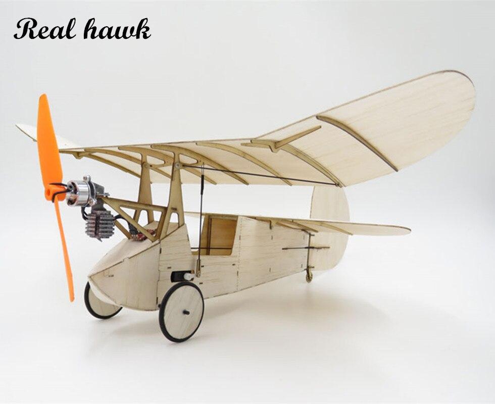 RC самолет лазерная резка самолетик из пробкового дерева Ньютон Топ Крыло рамки без крышки размах крыльев 358 мм пробкового дерева модель зда...