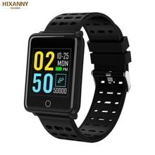 F3 Smart Bracelet 1.44 Color Screen Heart Rate Blood Pressure Monitoring GPS Track Movement IP68 Waterproof Health Watch