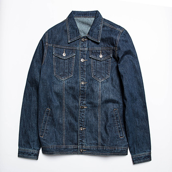 Autumn New Denim Jacket Fashion Mens Large Size Jacket Plus Fertilizer XL Loose Comfortable Jacket Male High Quality Coat